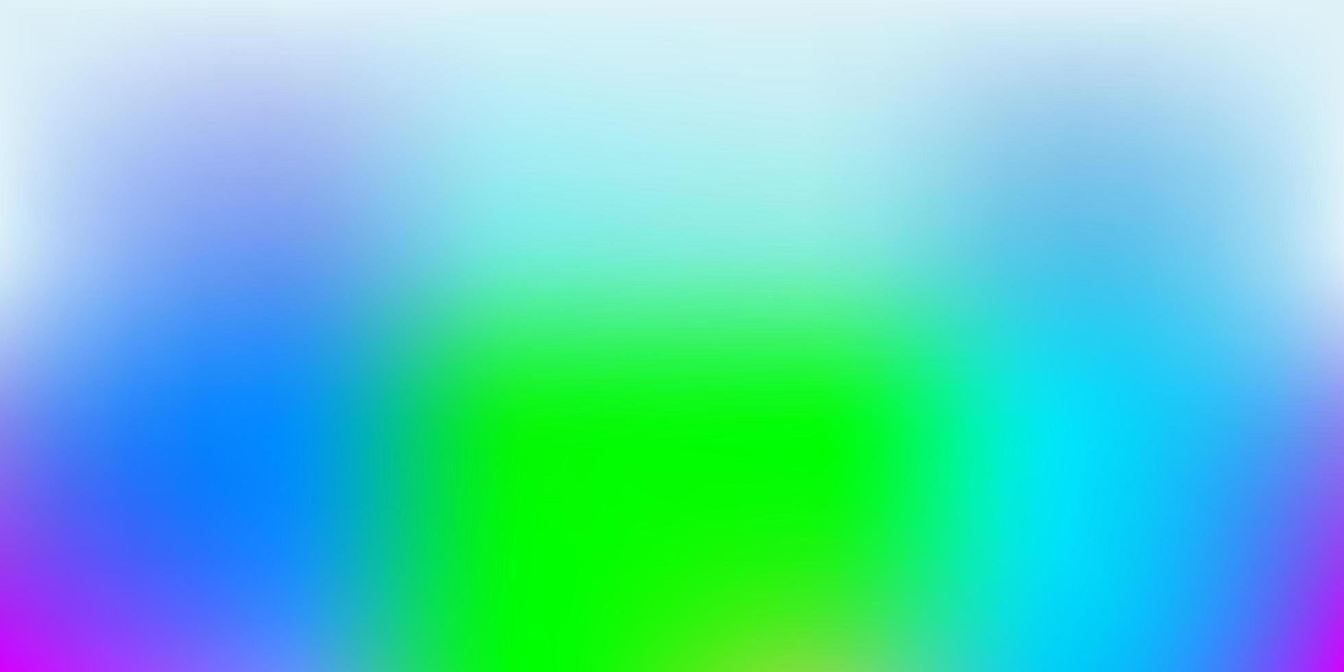 luz multicolor vetor turva pano de fundo.