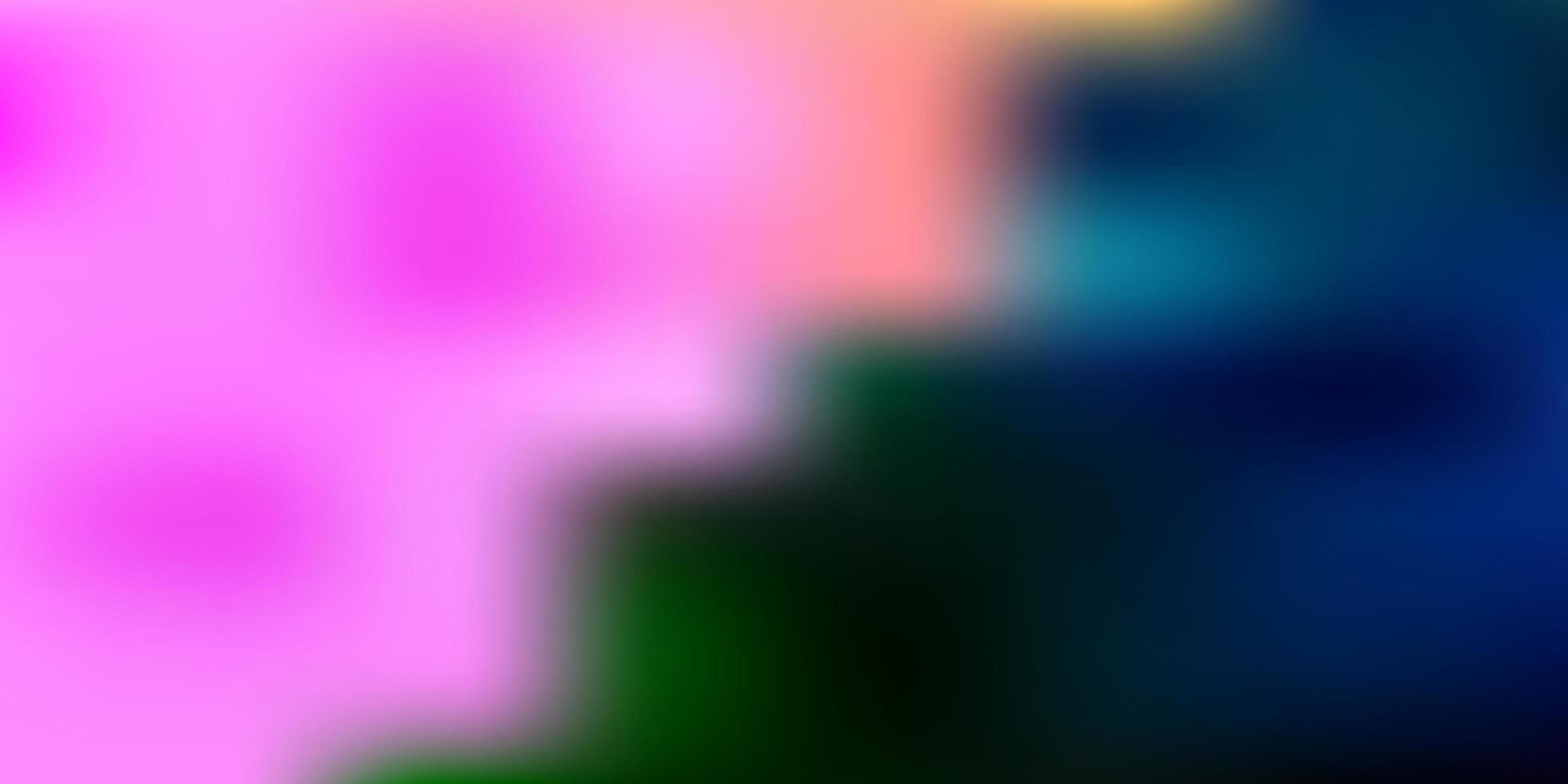 layout de borrão de gradiente de vetor azul claro