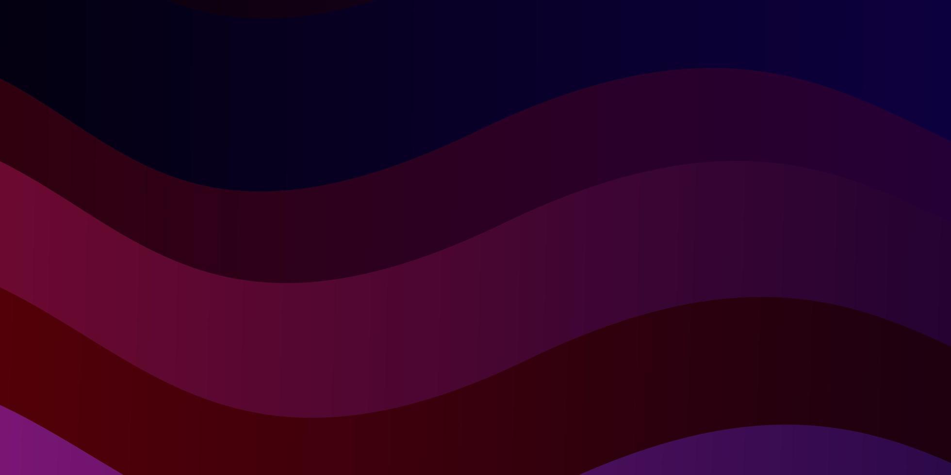 layout de vetor de azul escuro e vermelho com linhas irônicas.