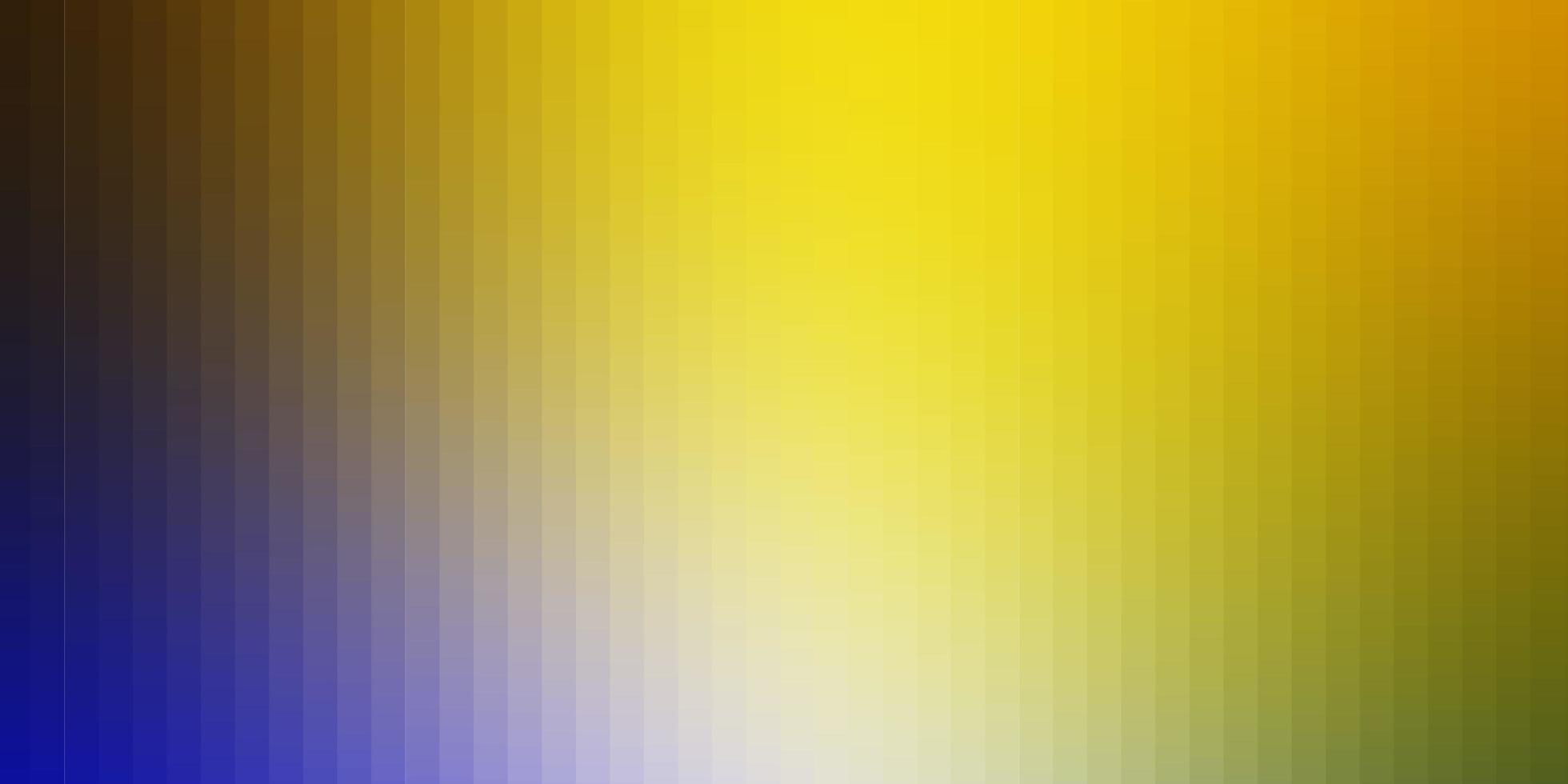 de fundo vector azul e amarelo claro em estilo poligonal.