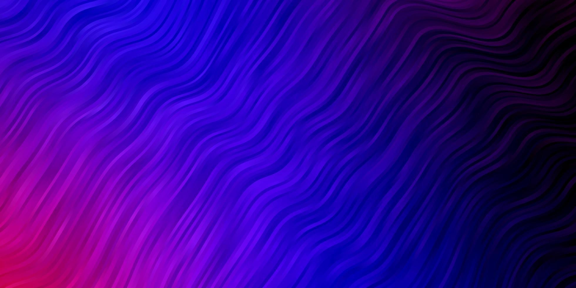 fundo vector azul e vermelho claro com curvas.