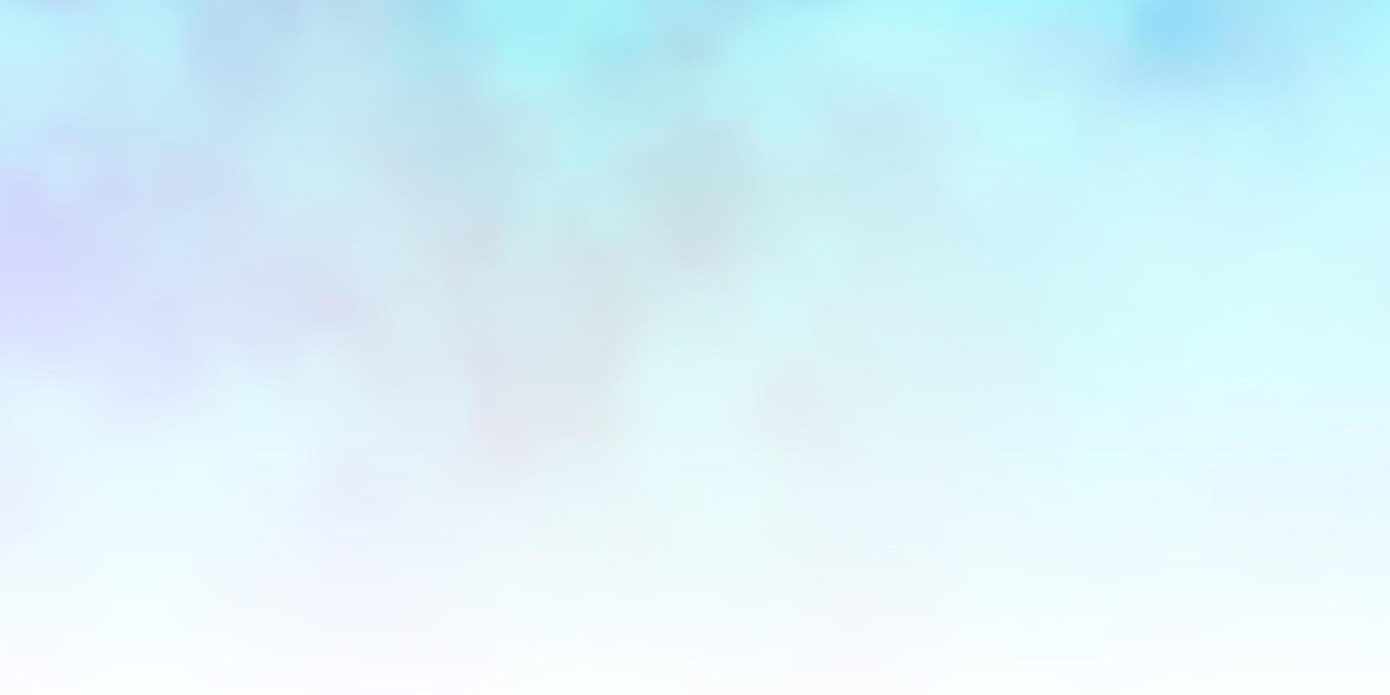 pano de fundo azul claro do vetor com cúmulos.