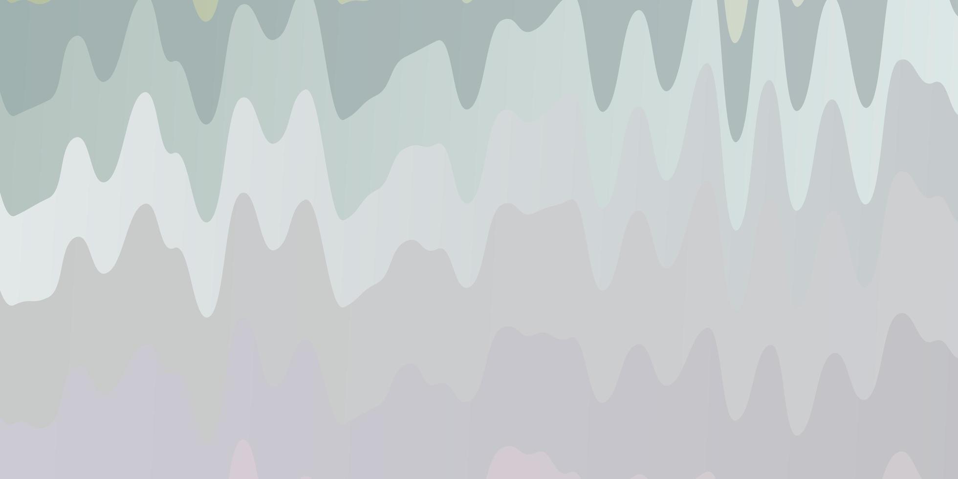 layout de vetor multicolor de luz com arco circular.
