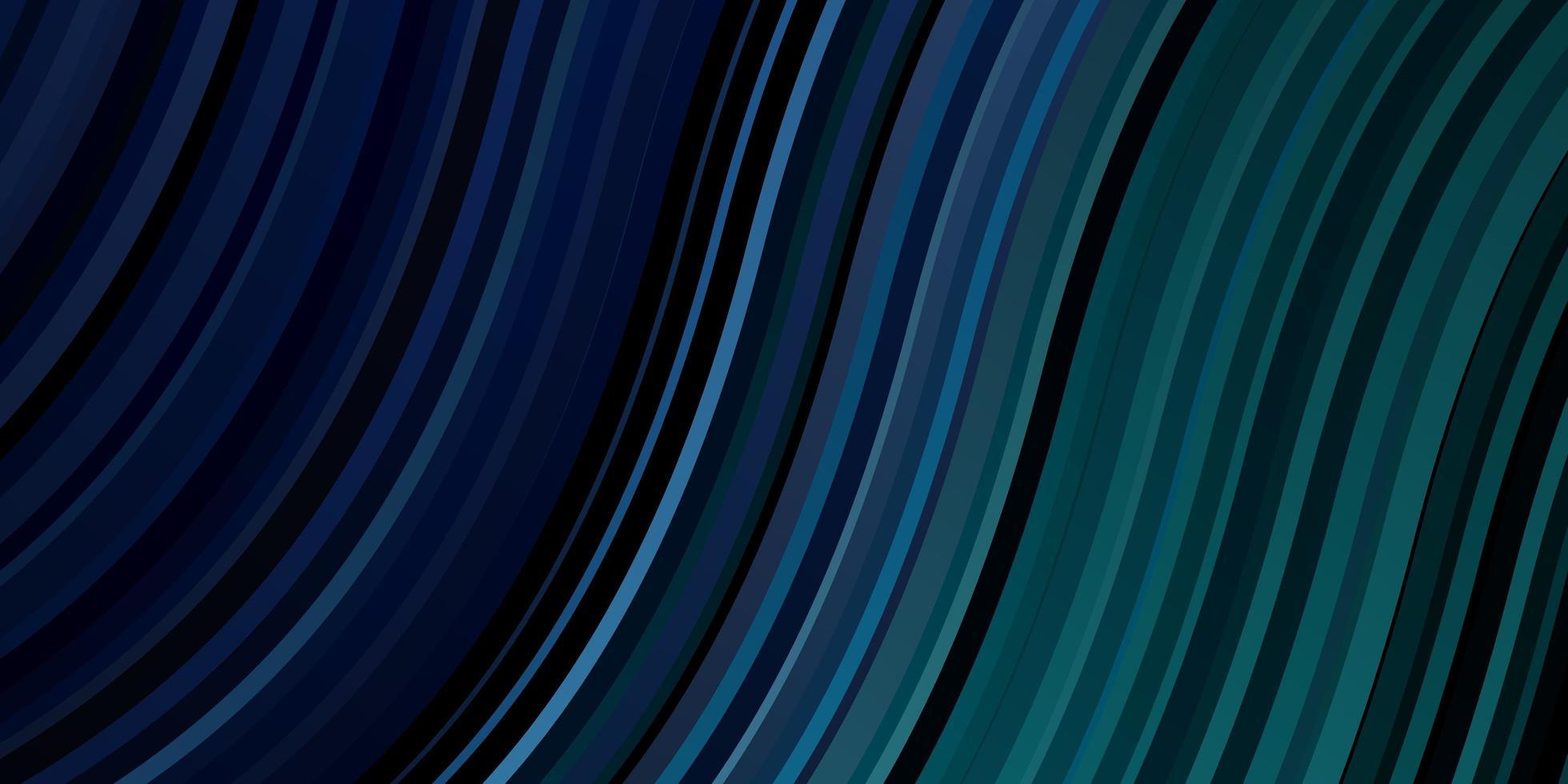 layout de vetor azul e verde escuro com linhas irônicas.