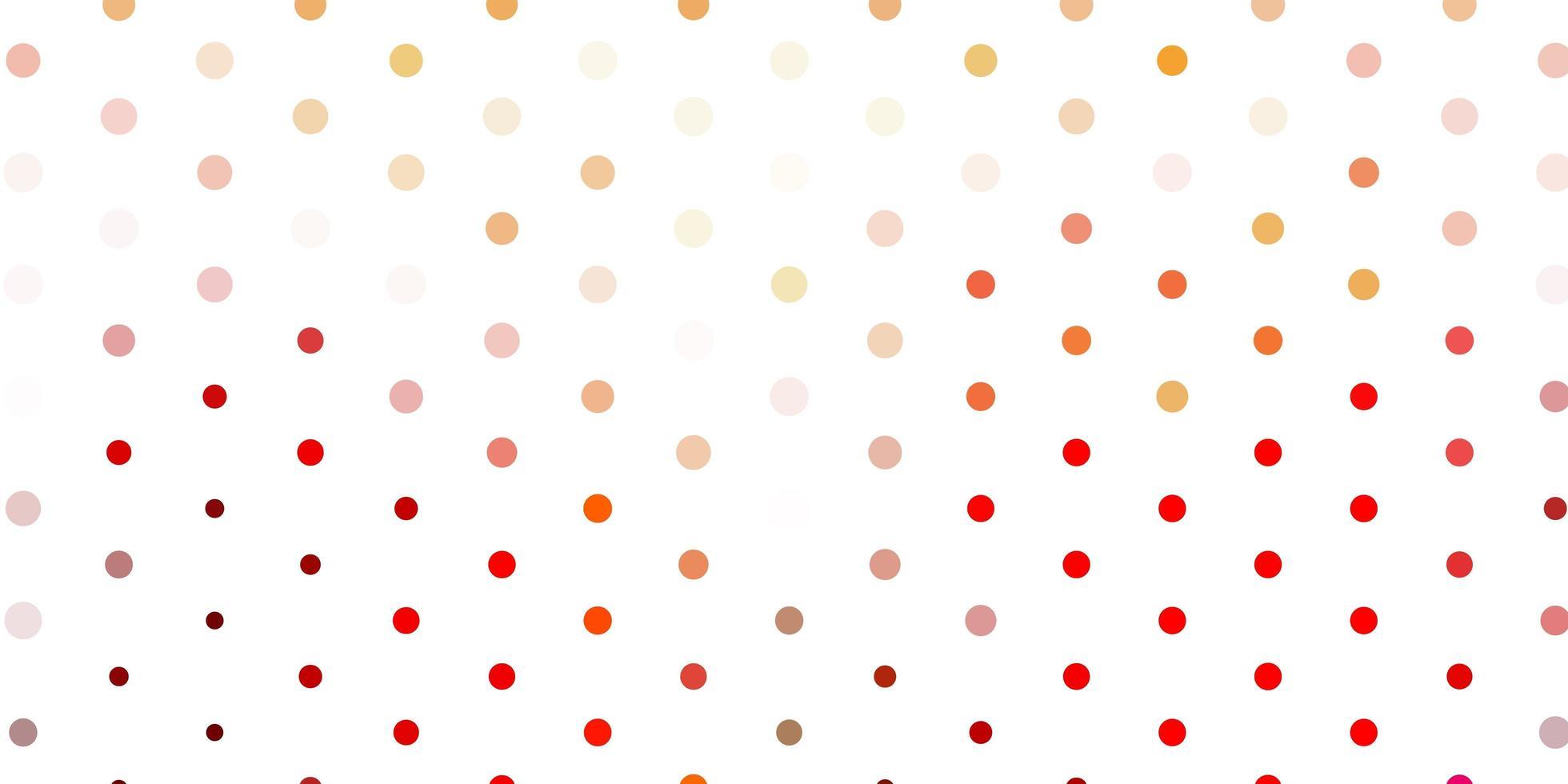 fundo vector vermelho claro com bolhas