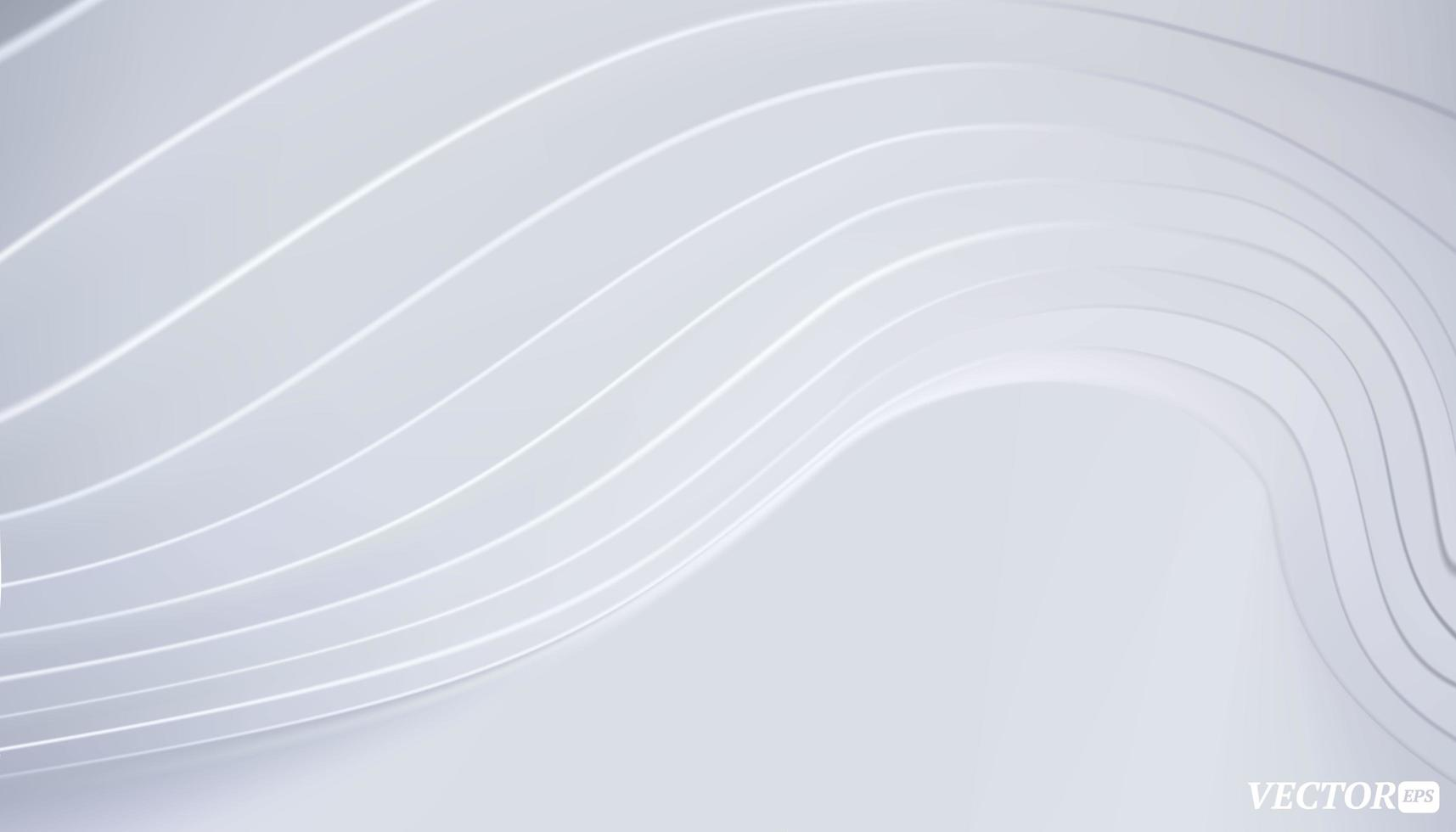 design exterior mínimo abstrato. textura de onda limpa e moderna para o conceito de slide de negócios. vetor
