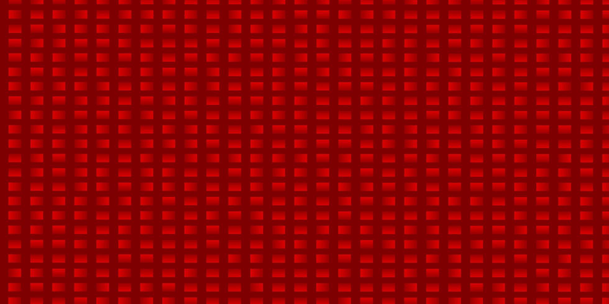 layout de vetor vermelho claro com linhas, retângulos.