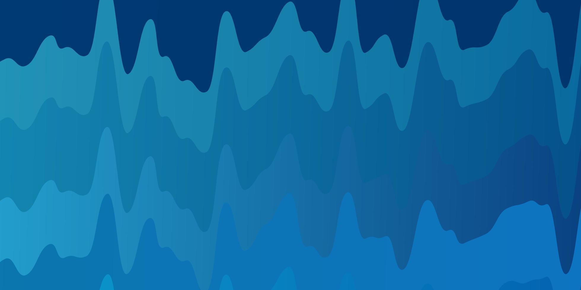 layout de vetor de azul claro com linhas irônicas.