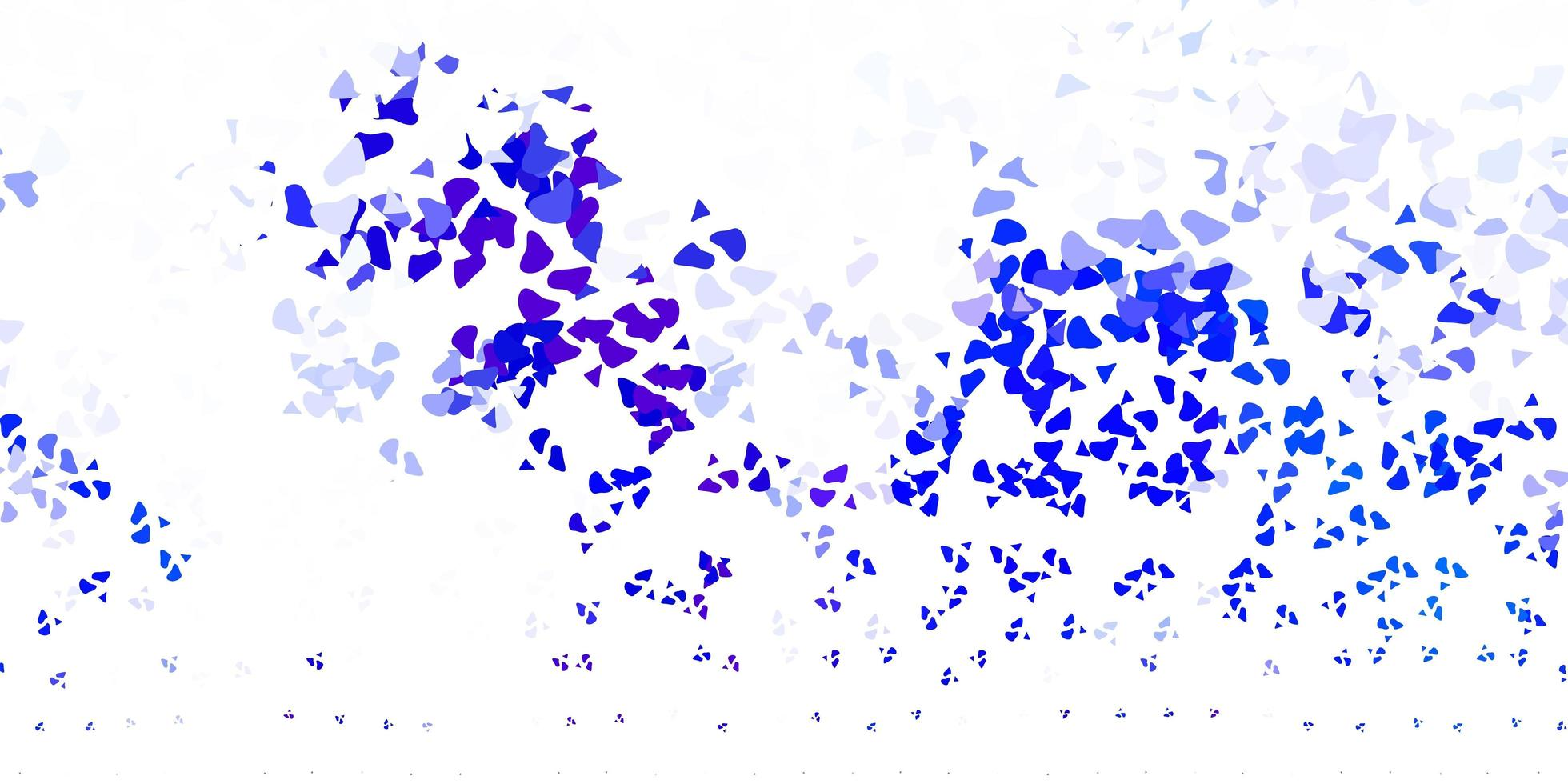 modelo de vetor azul claro com formas abstratas.