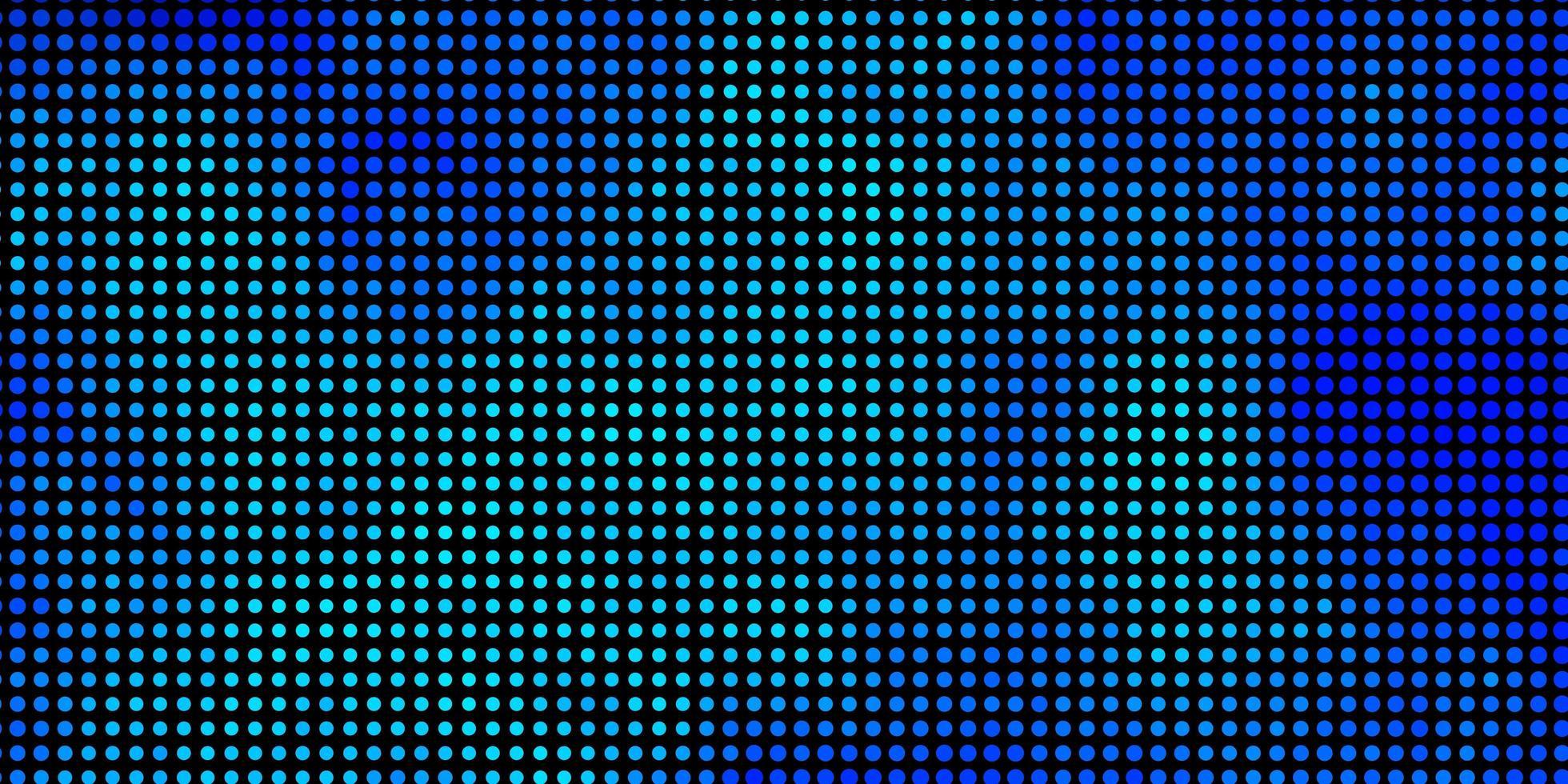 modelo de vetor azul claro com círculos.