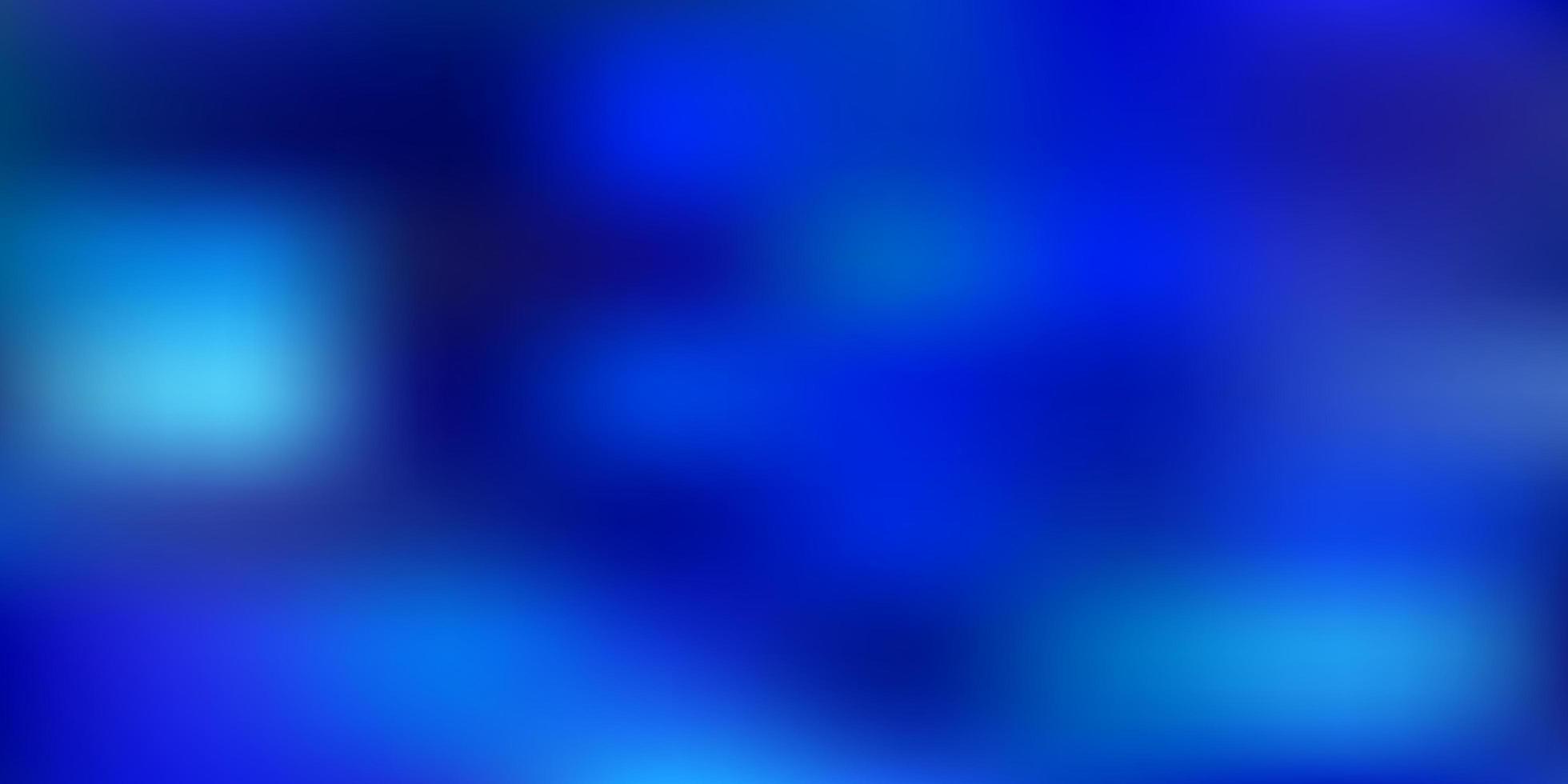 padrão de desfoque gradiente de vetor azul claro.