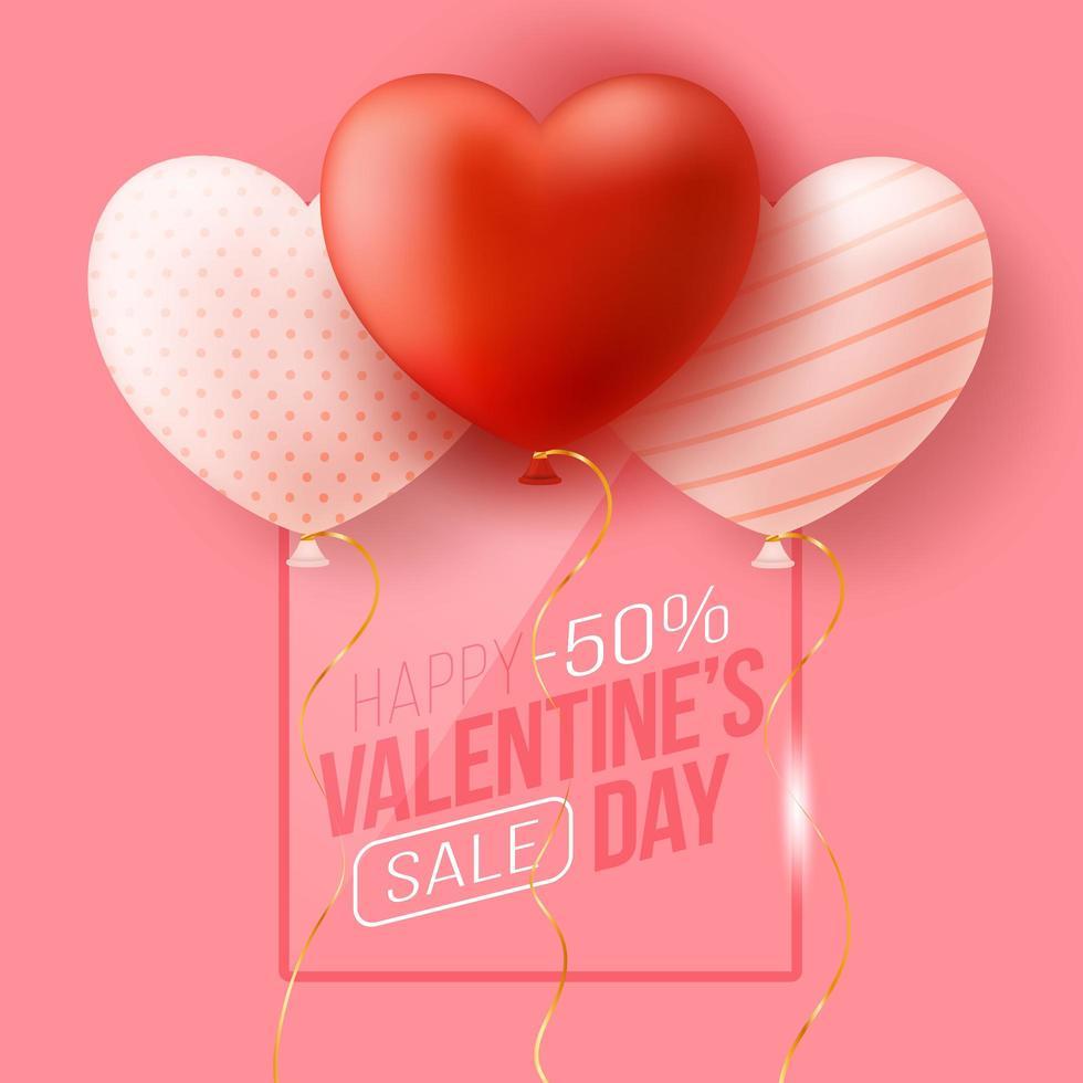 banner promocional da web para liquidação do dia dos namorados vetor