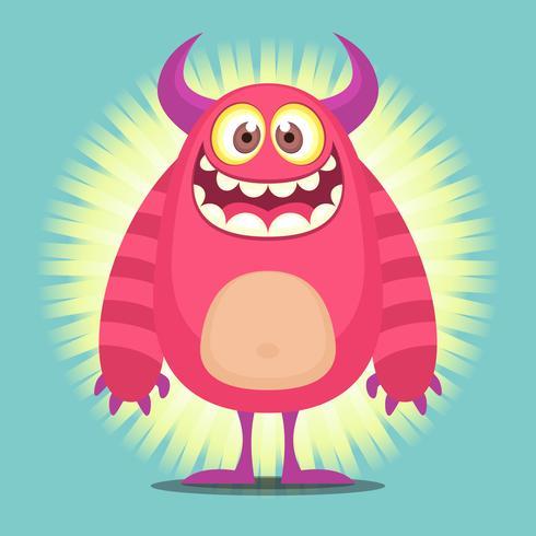 ilustração do personagem do troll cartoon bonito vetor