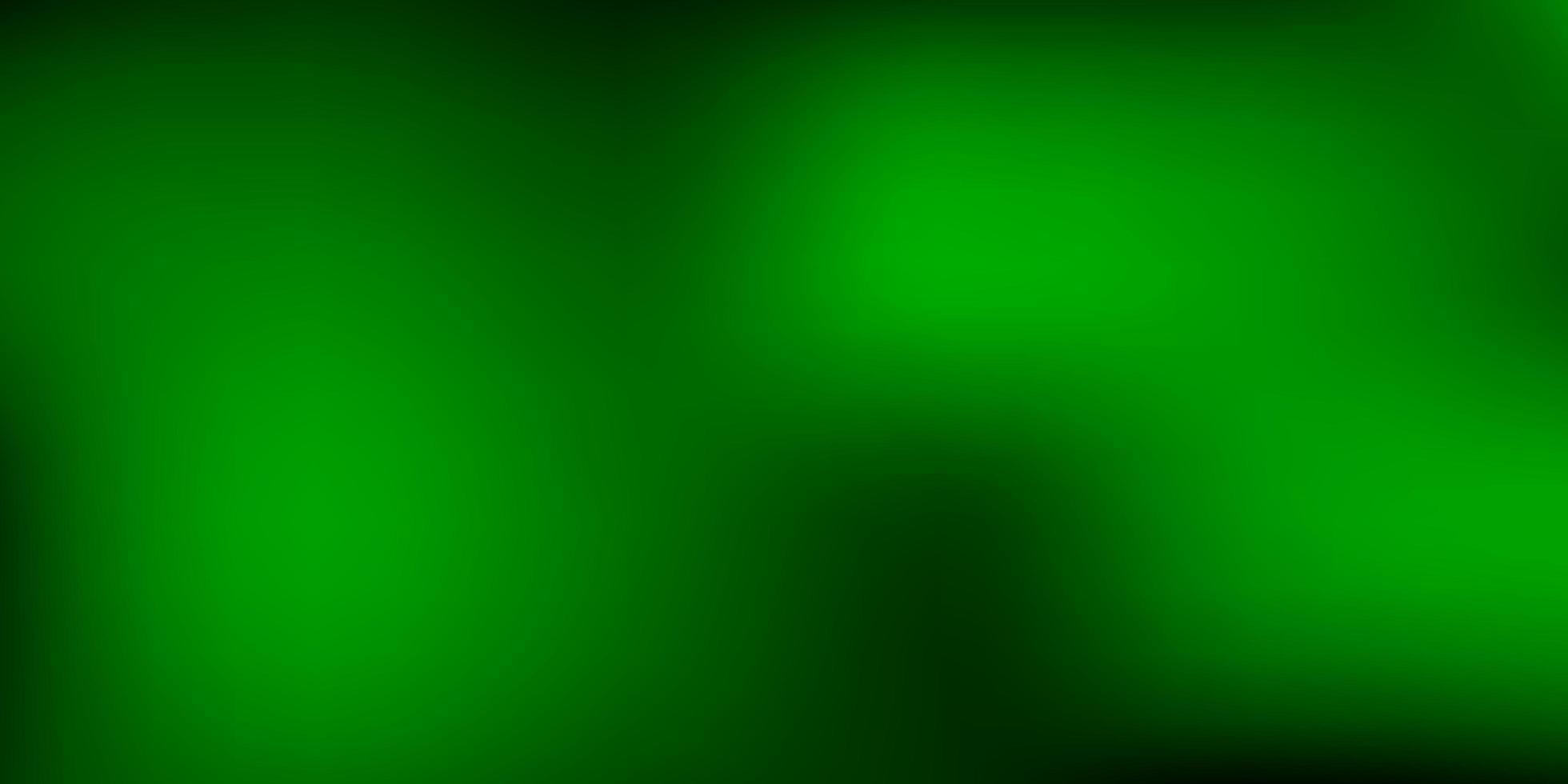 abstrato de vetor verde escuro desfocar o pano de fundo.