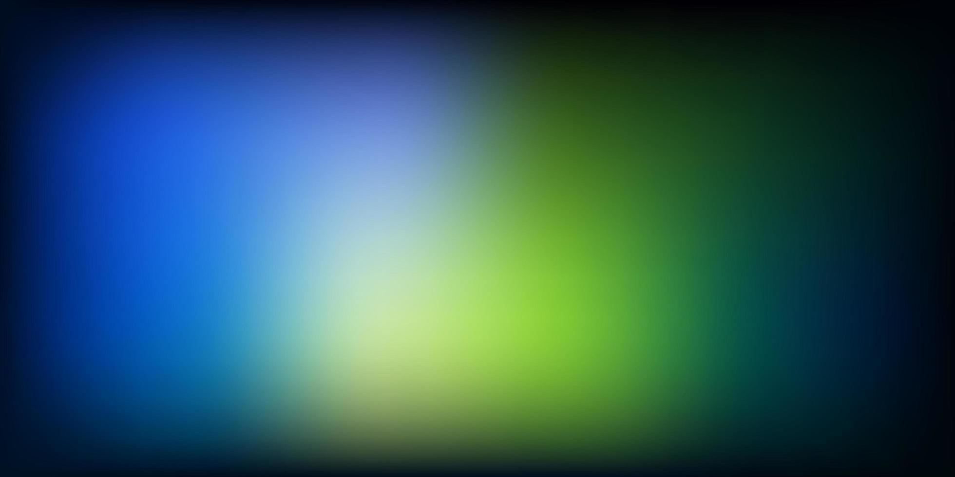 padrão de desfoque de vetor azul e amarelo claro.