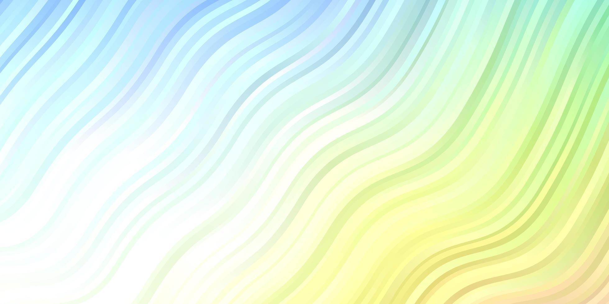 modelo de vetor multicolor de luz com linhas irônicas.
