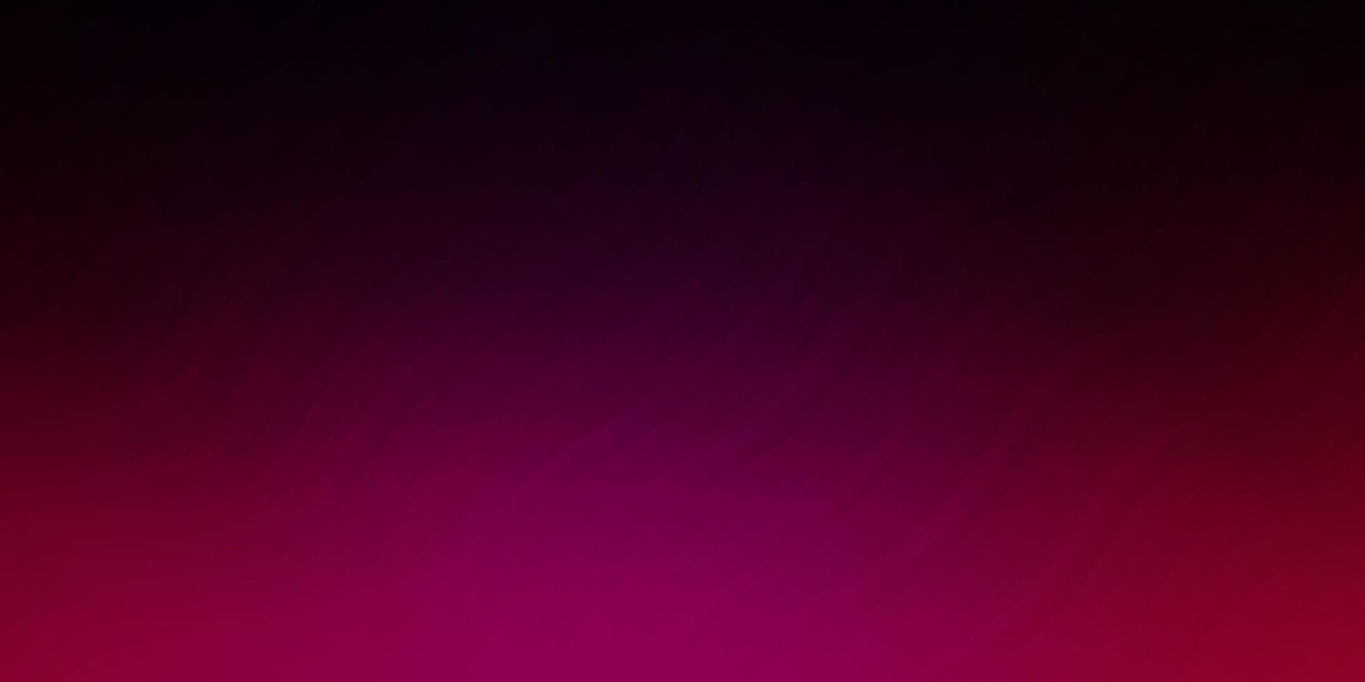 pano de fundo vector rosa escuro com linhas dobradas.