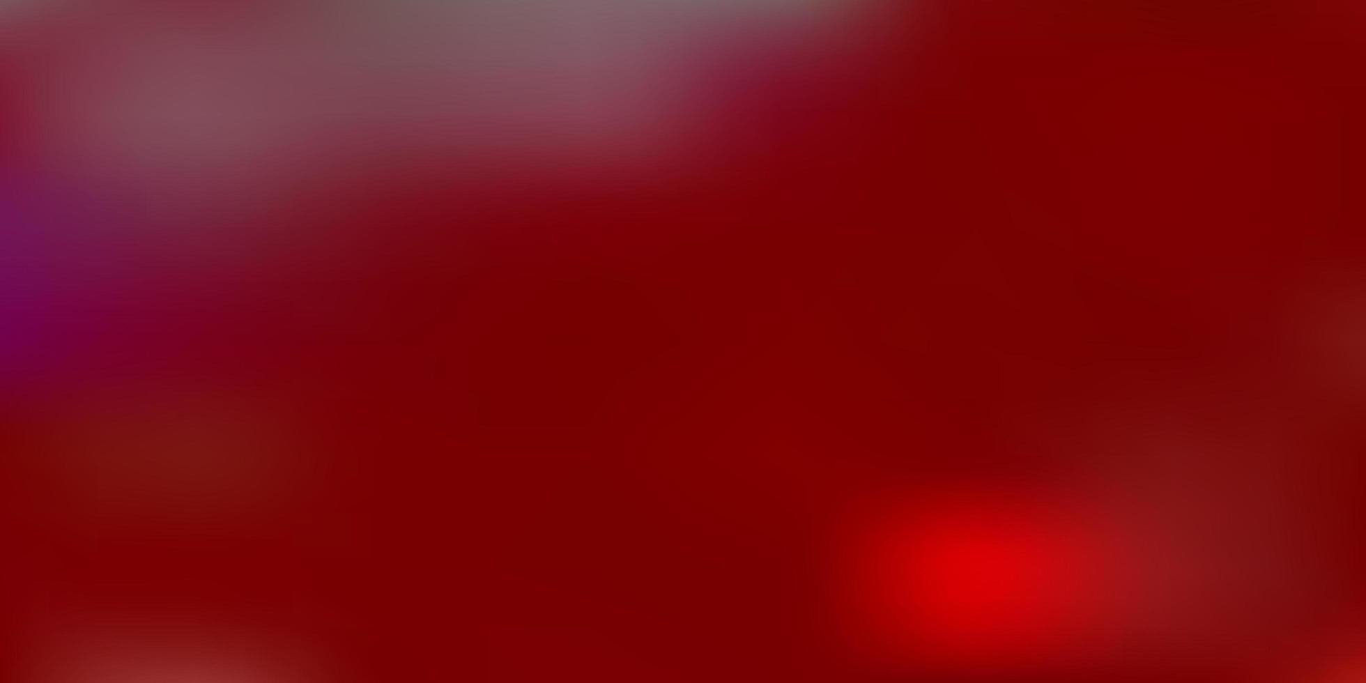 pano de fundo de desfoque de gradiente de vetor vermelho claro.