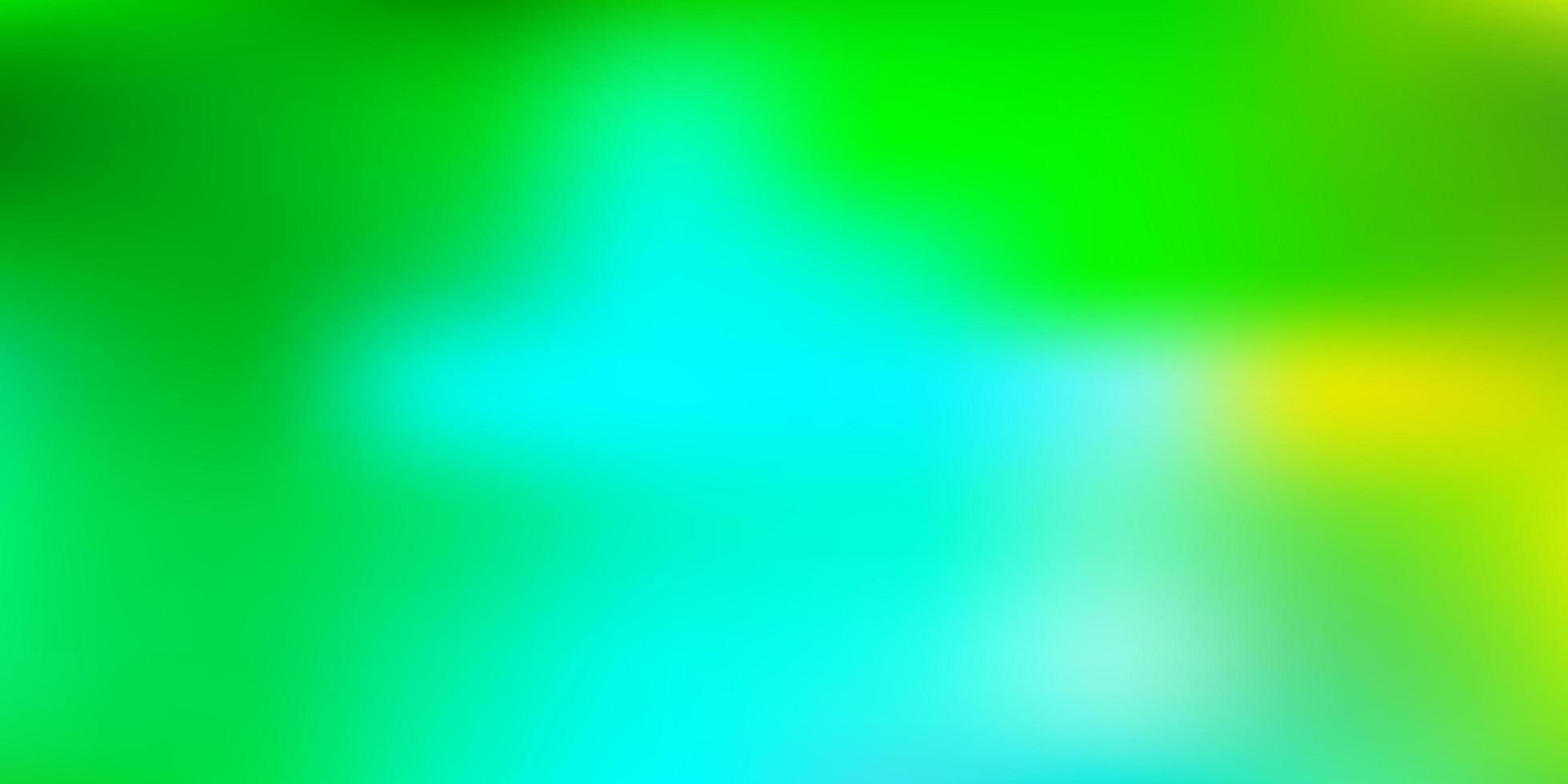 modelo de desfoque de vetor azul e verde claro.