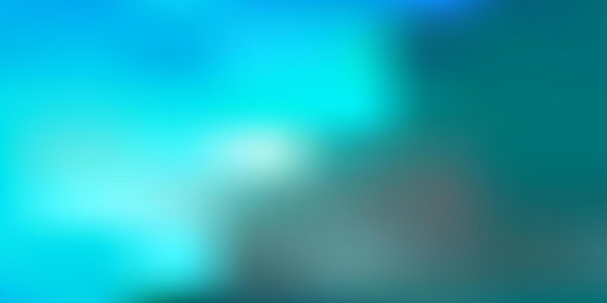 textura de desfoque de vetor azul claro.