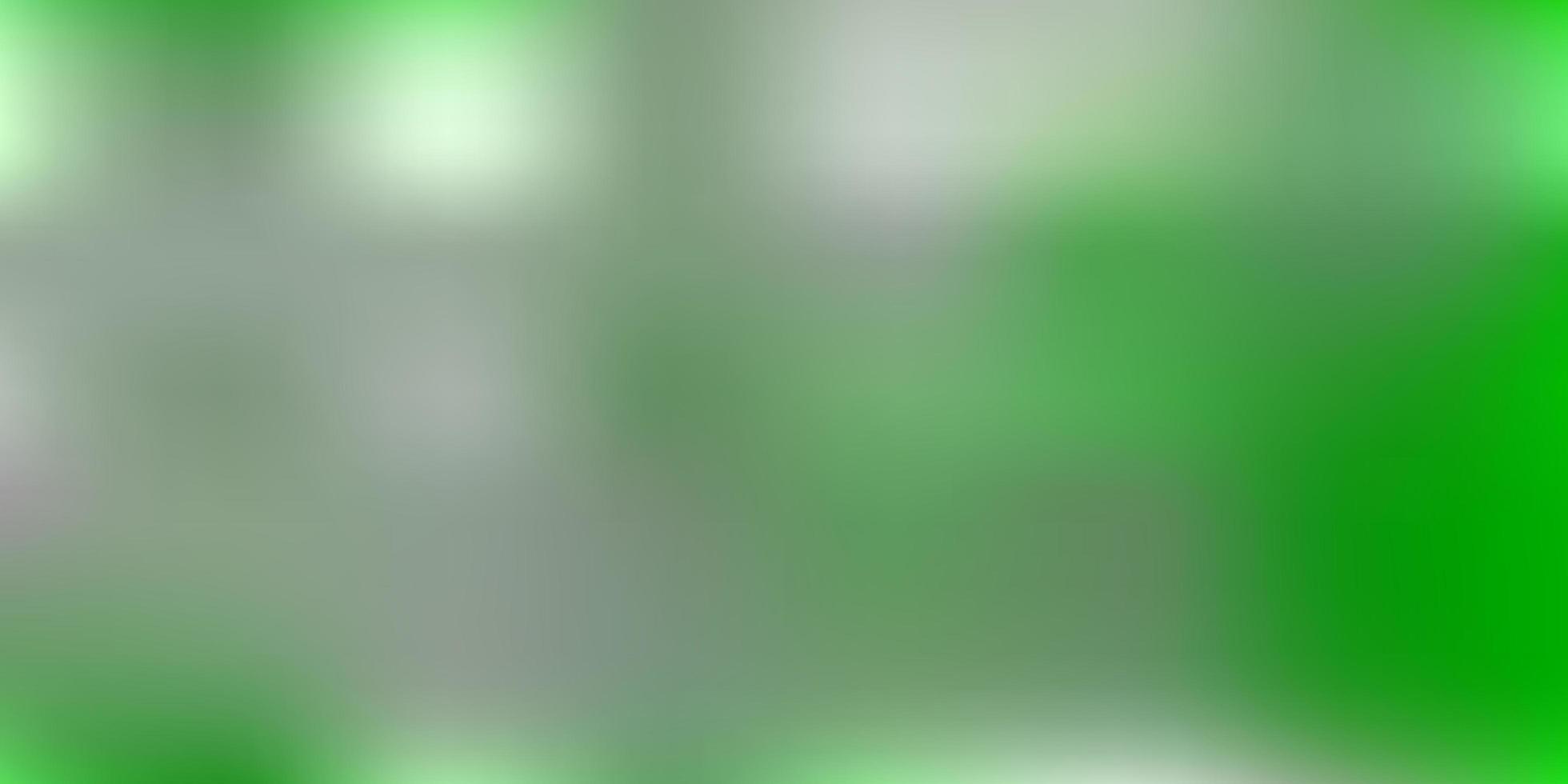 textura de desfoque de gradiente de vetor verde claro.