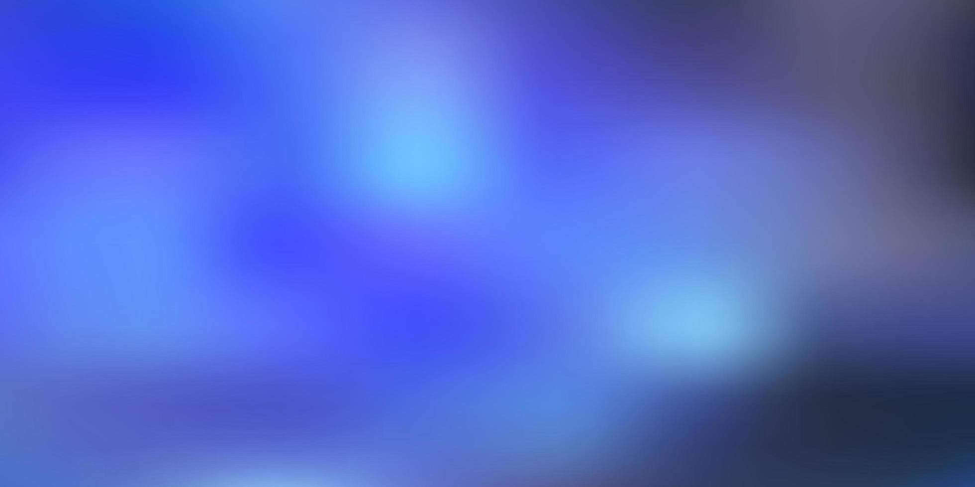 luz azul vetor turva padrão.