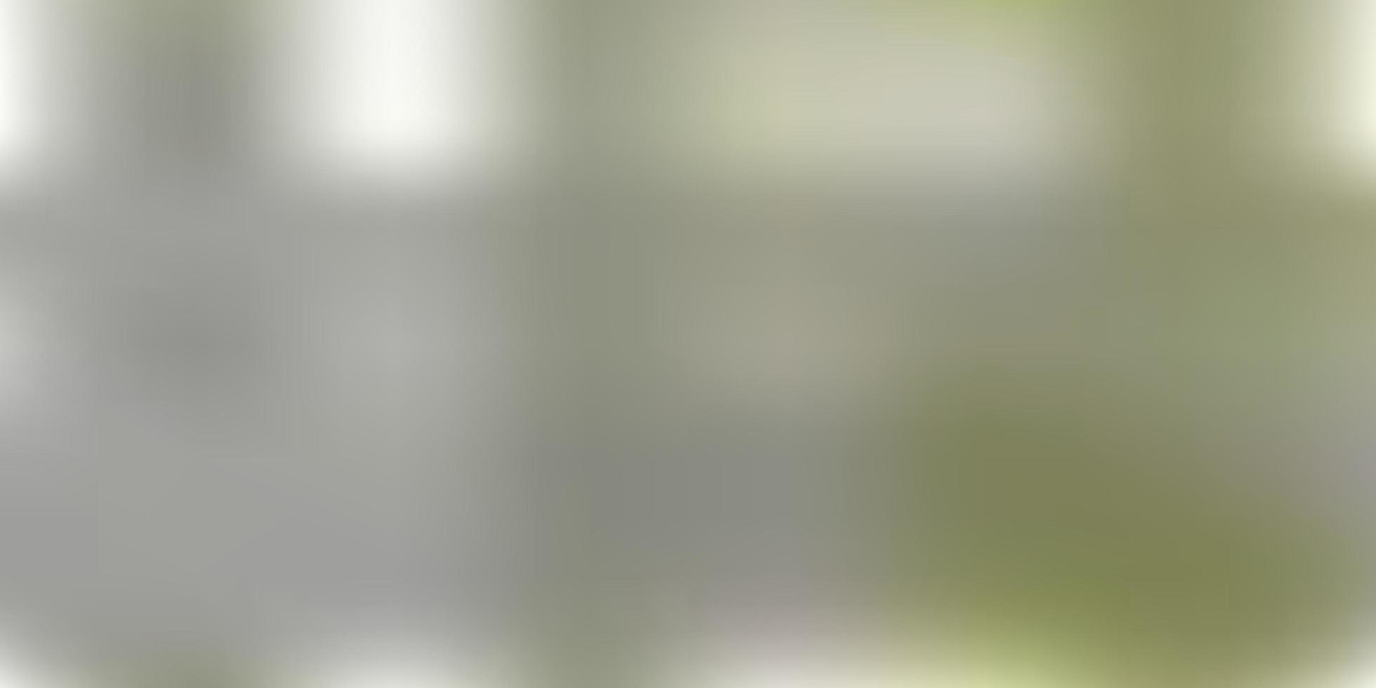layout de borrão de gradiente de vetor verde claro.