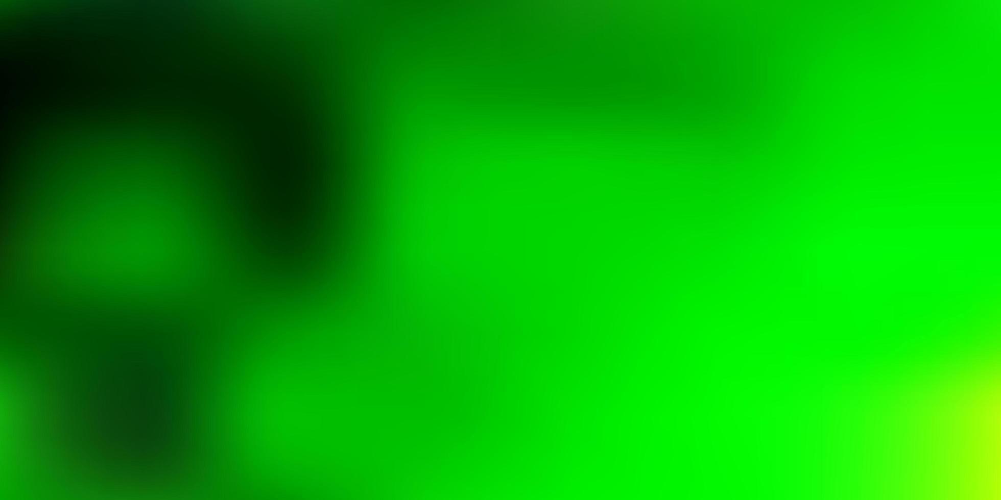 luz verde vetor turva fundo.