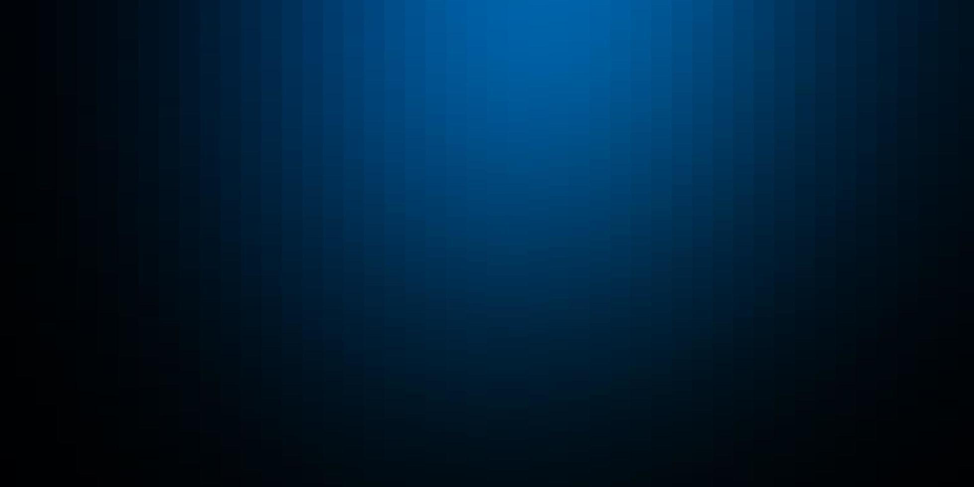 padrão de vetor azul escuro em estilo quadrado.