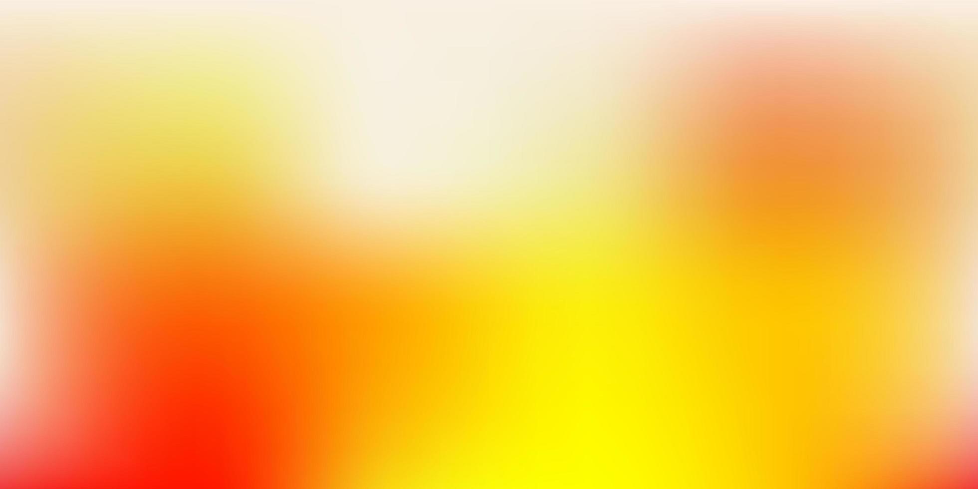 textura de desfoque de vetor laranja claro.