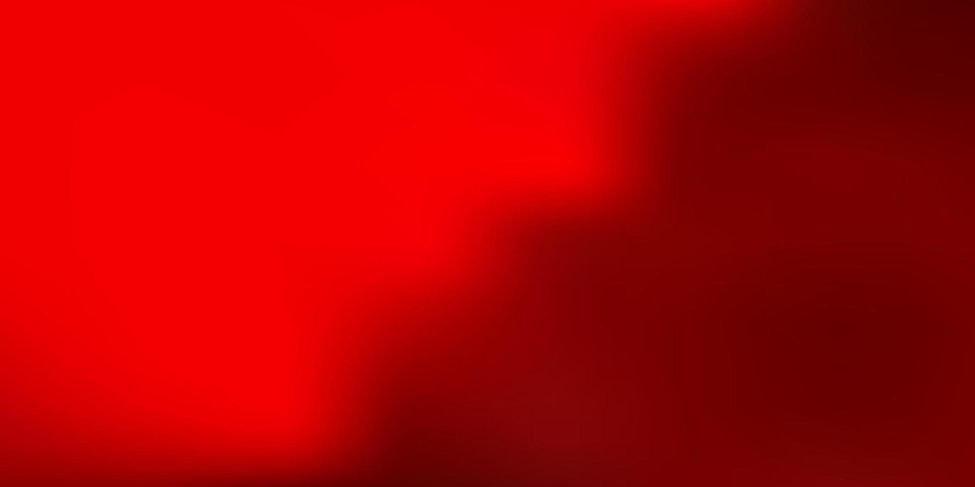 desenho de borrão de vetor vermelho claro.