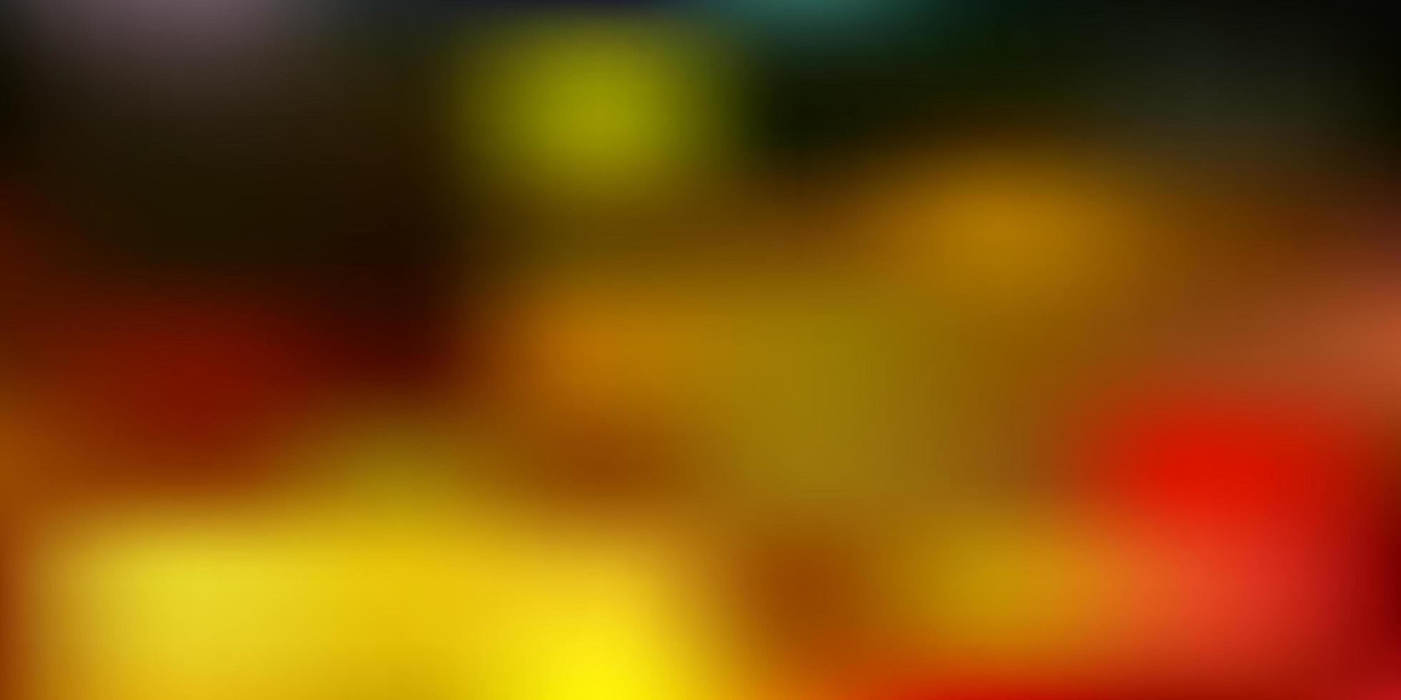 luz multicolor vetor abstrato desfocar layout.