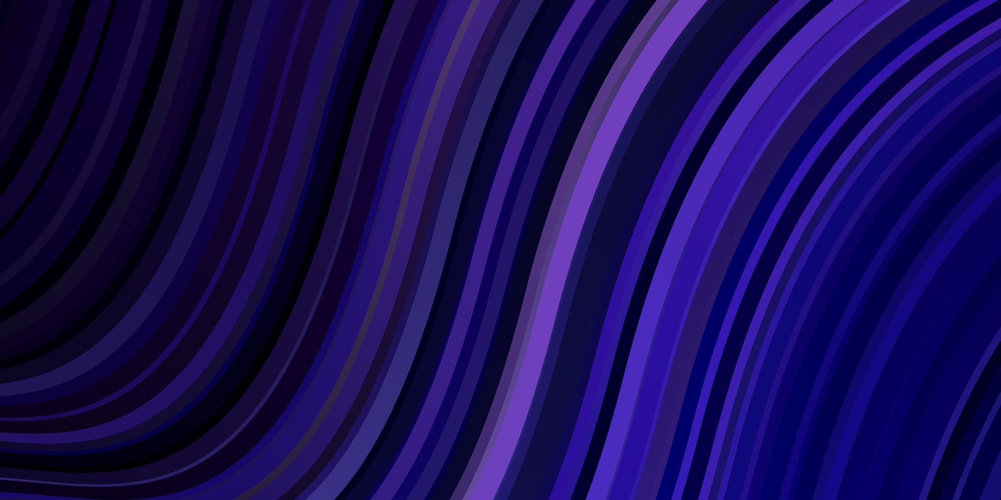 pano de fundo vector roxo escuro com linhas dobradas.