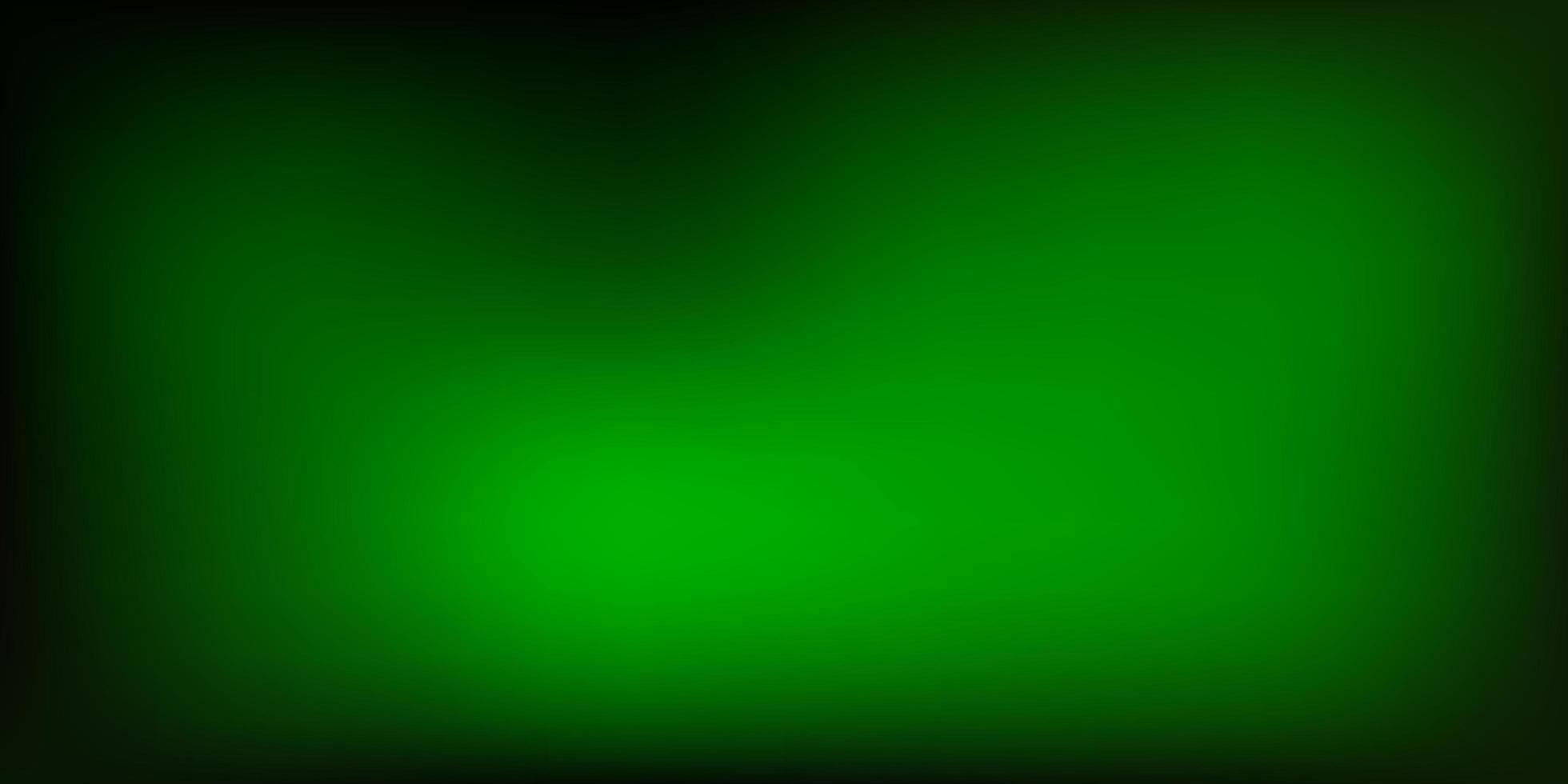 fundo borrado vetor verde escuro.
