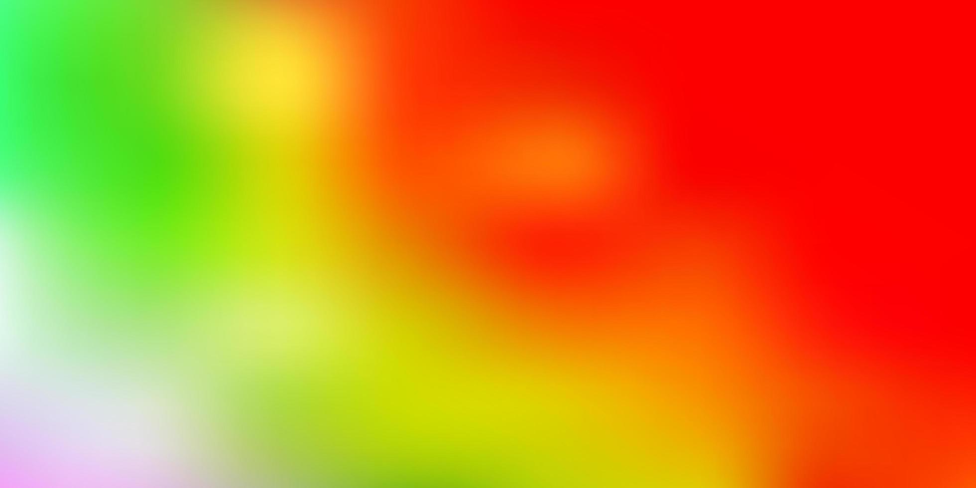 luz multicolor vetor desfocar o fundo.