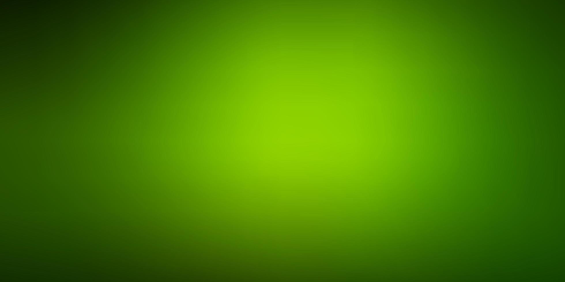 fundo desfocado moderno do vetor verde escuro.
