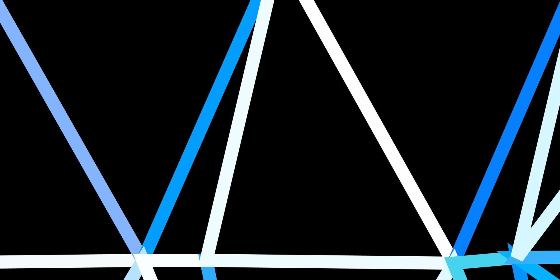 cenário poligonal de vetor azul escuro.