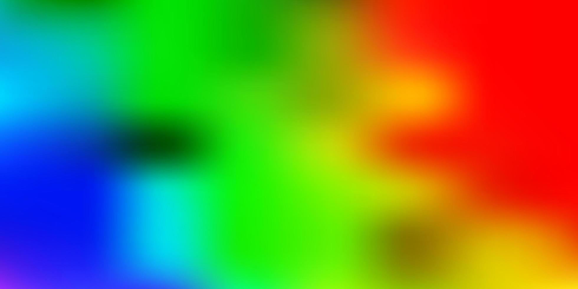 textura luz multicolor vector desfoque.