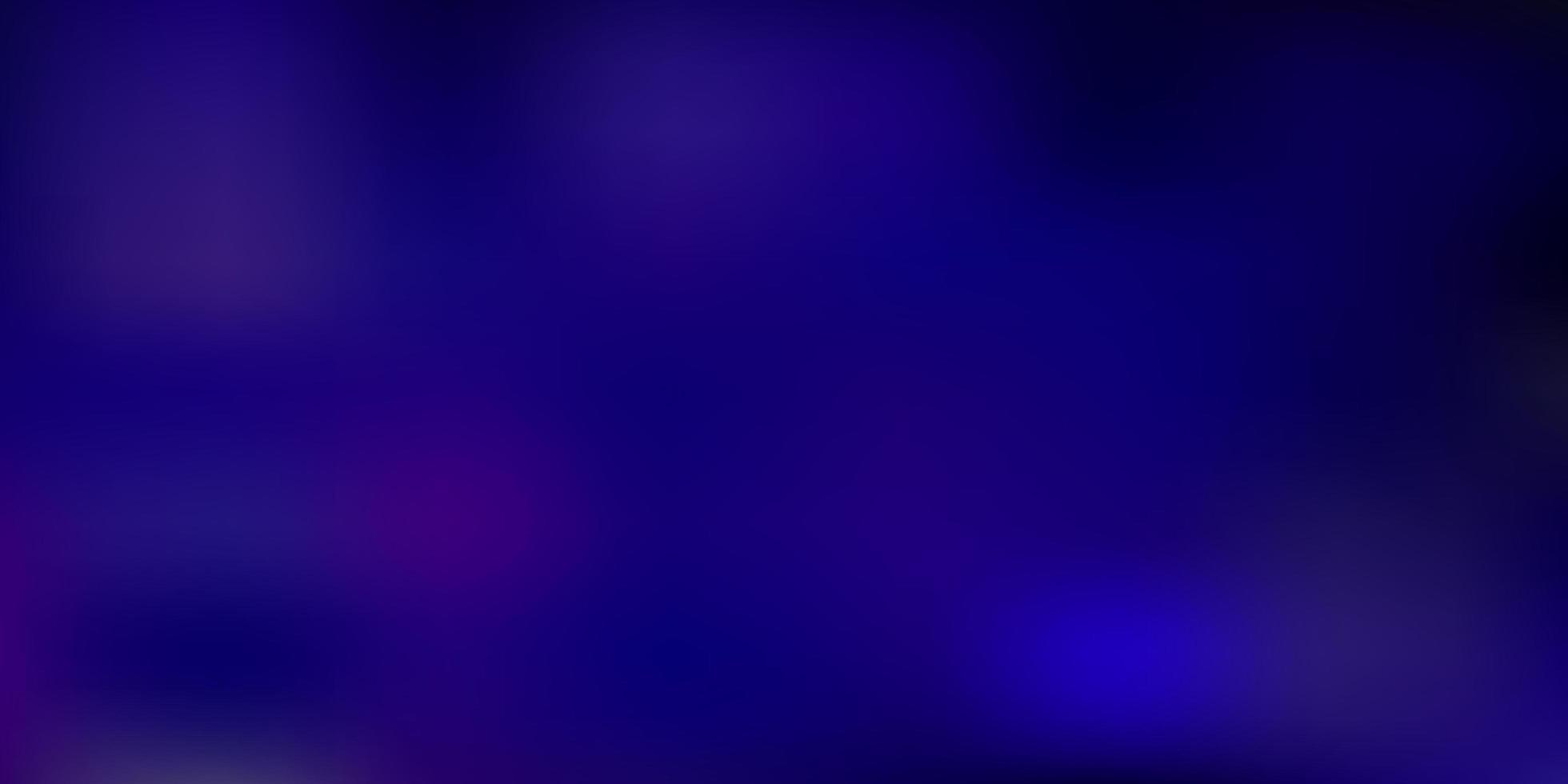 layout de borrão gradiente de vetor roxo claro.