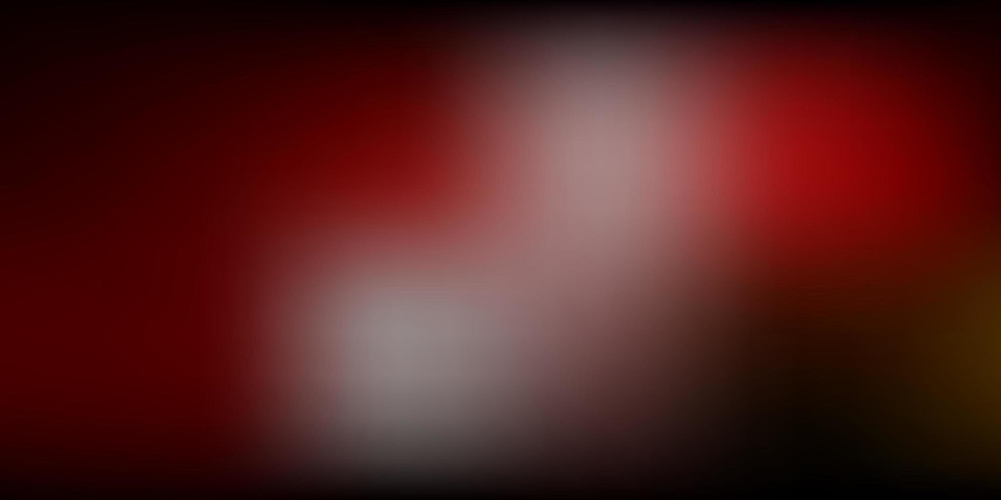 textura de desfoque de gradiente de vetor multicolorido escuro.