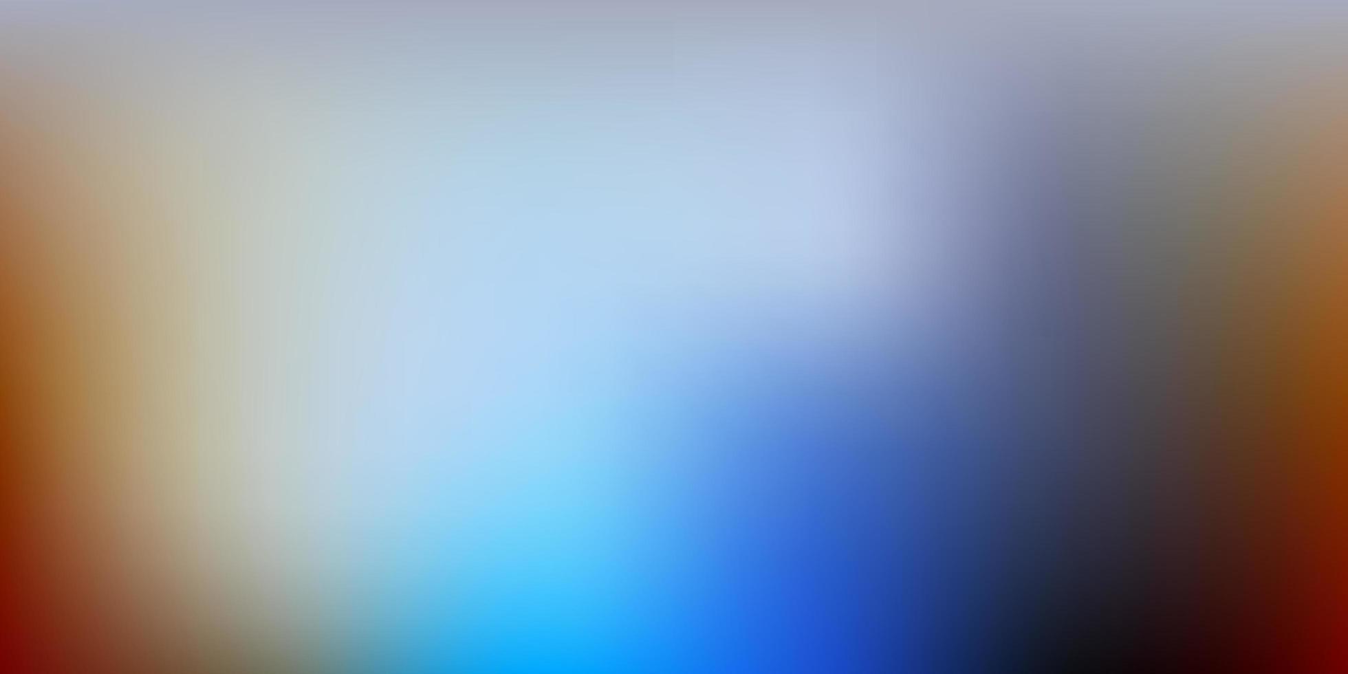 pano de fundo desfocado vector azul e amarelo claro.
