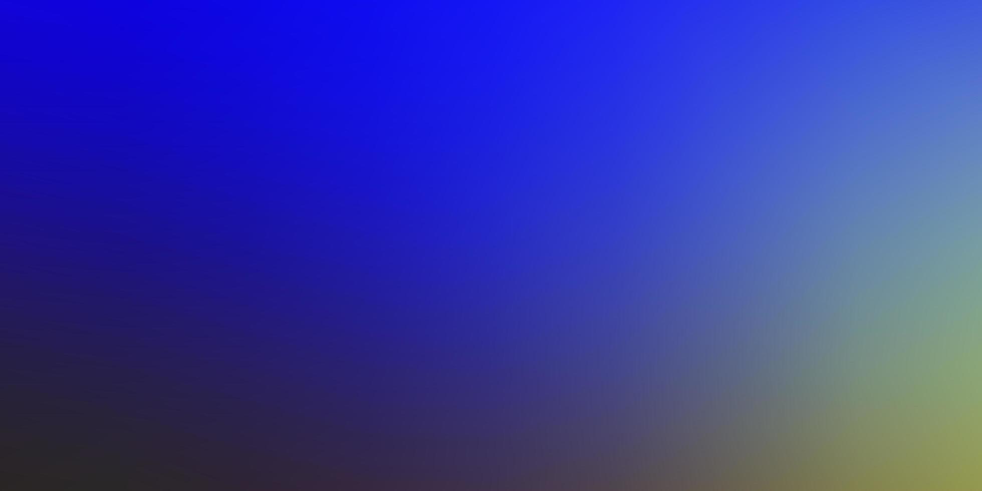 luz azul, verde vetor turva padrão colorido.
