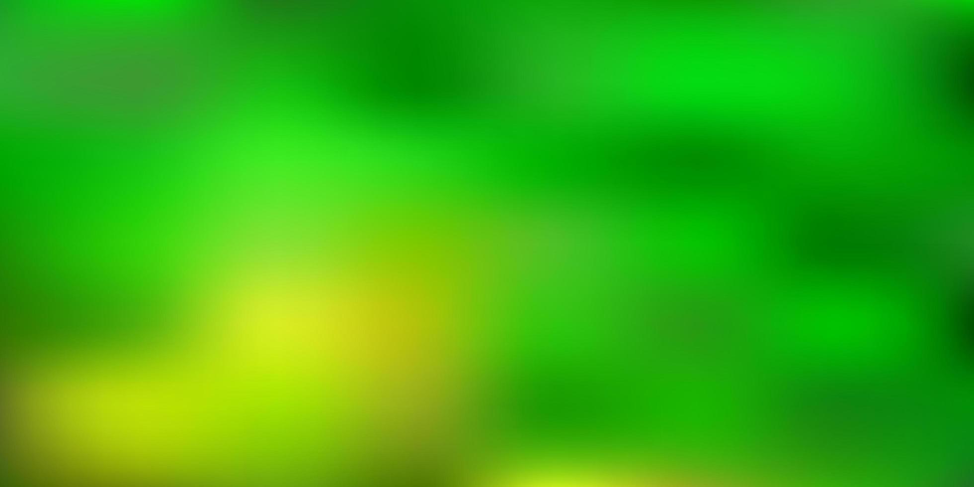 luz verde, amarelo vetor abstrato desfocar desenho.