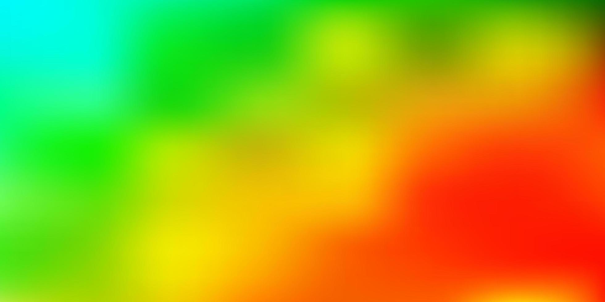 padrão de desfoque gradiente de vetor azul claro e verde.
