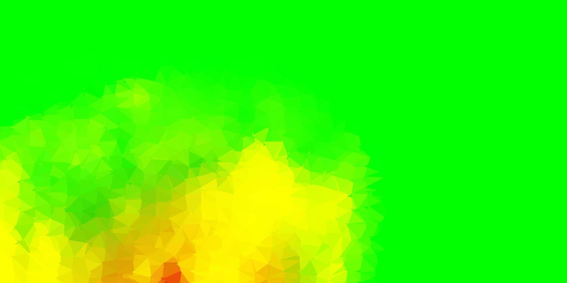 layout de polígono gradiente de vetor multicolorido escuro.