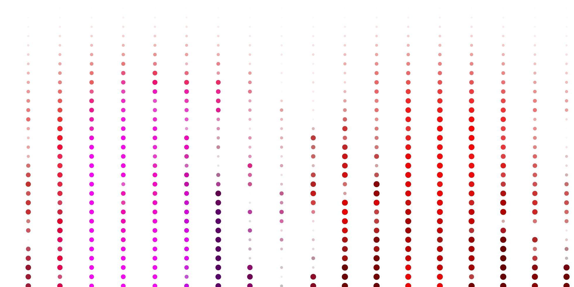textura de vetor rosa e amarelo claro com discos.