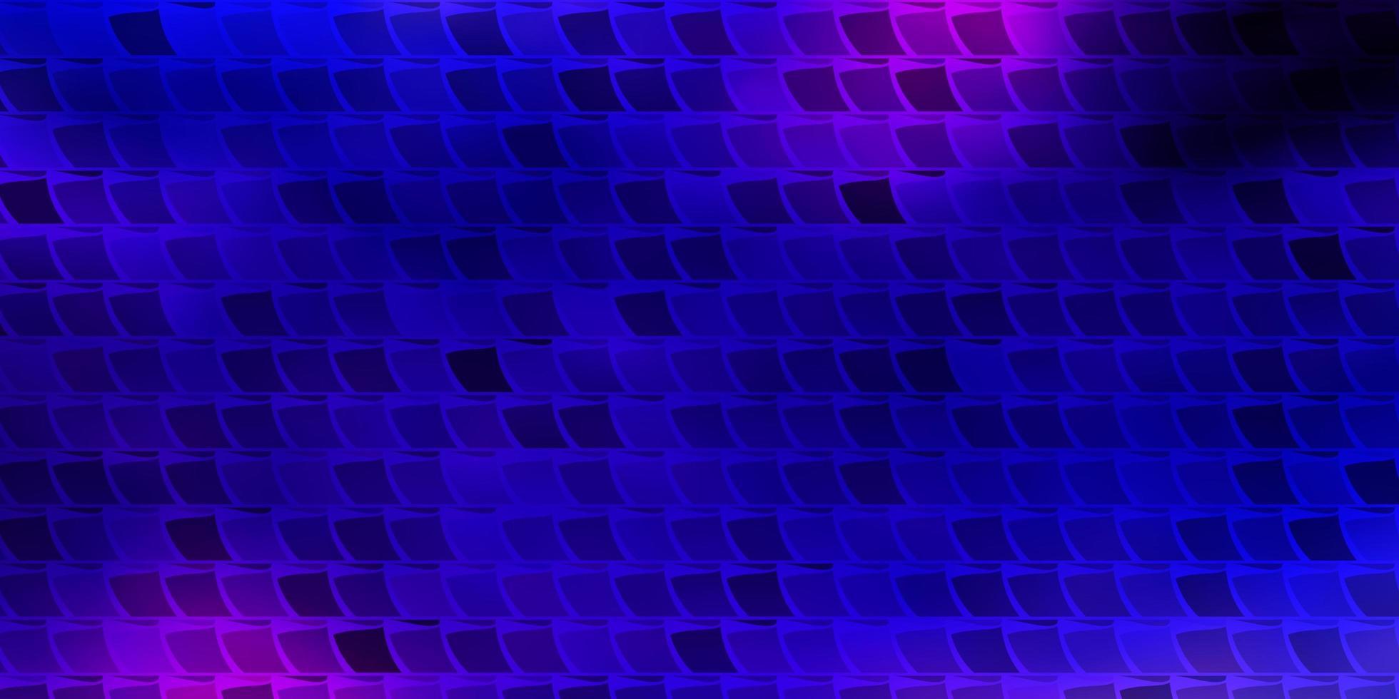 padrão de vetor rosa escuro, azul em estilo quadrado.
