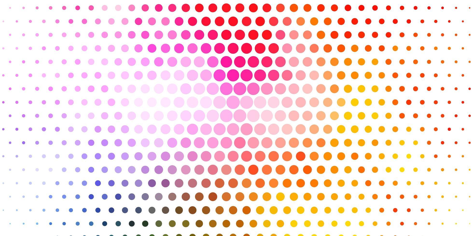 luz de fundo vector multicolor com manchas.
