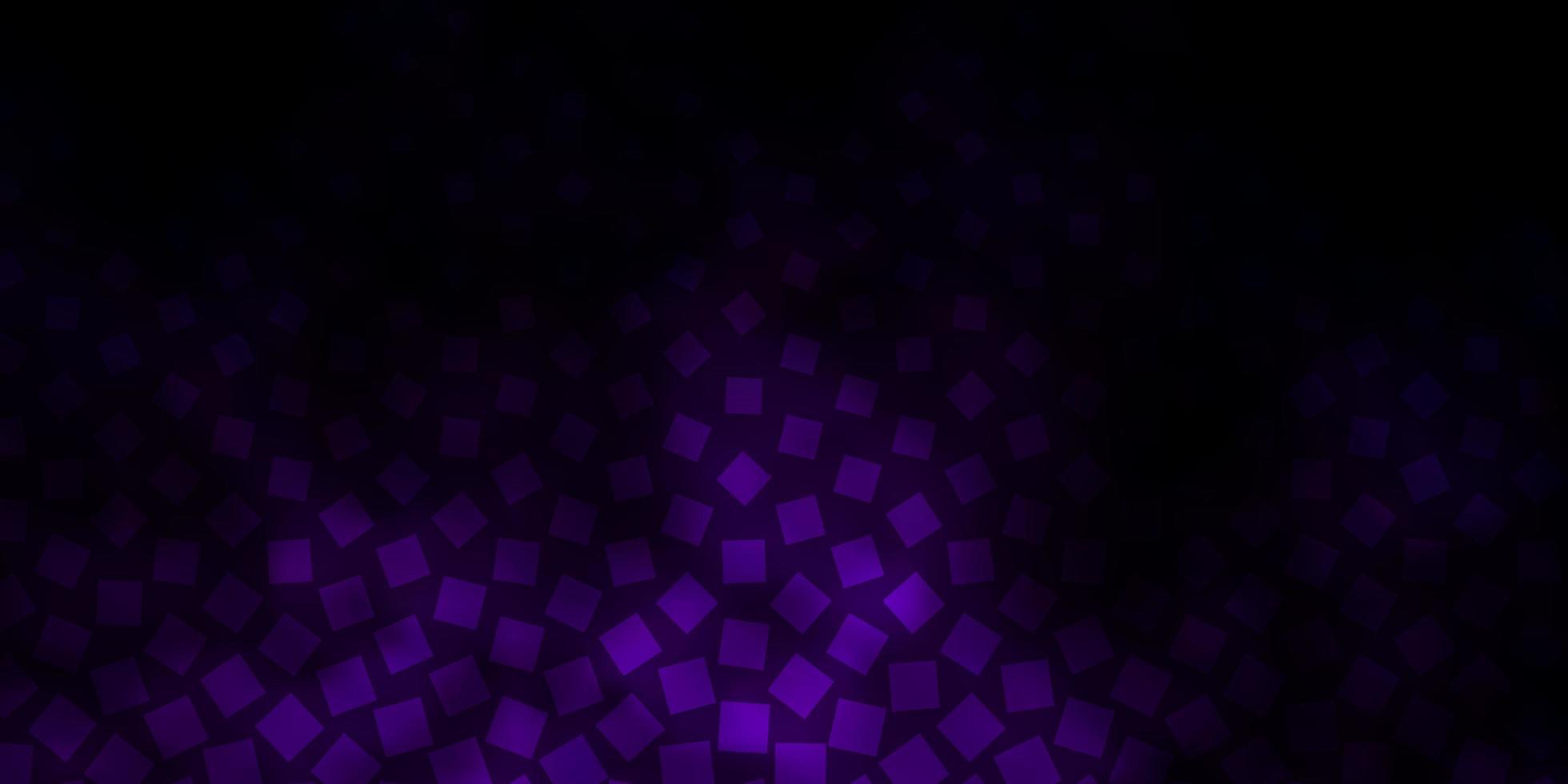 padrão de vetor roxo escuro em estilo quadrado.