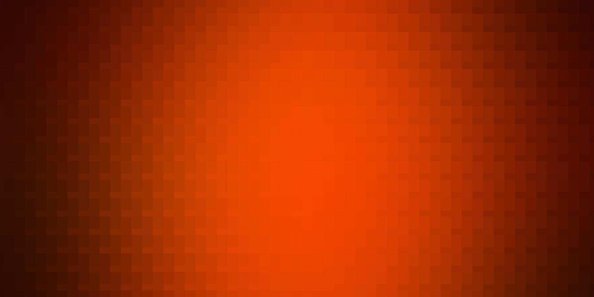 modelo de vetor laranja claro com retângulos.